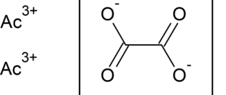 Оксалат актиния(III)