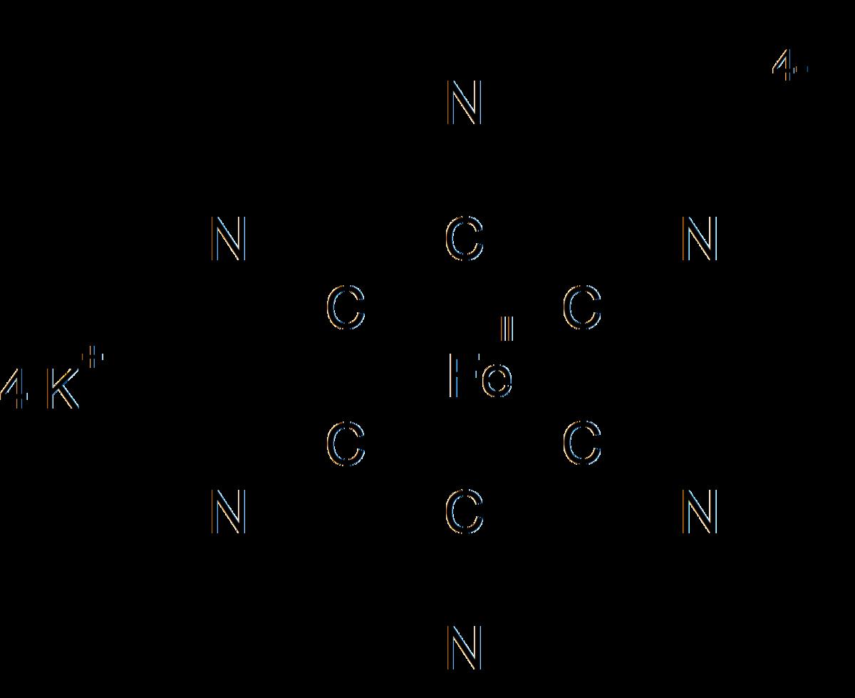 Гексацианоферрат(II) калия
