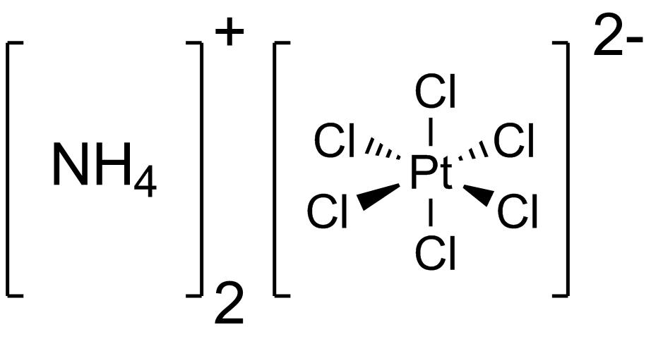 Гексахлороплатинат(IV) аммония