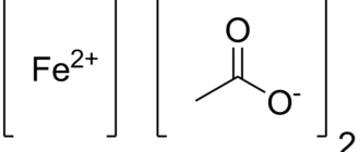Ацетат железа(II)