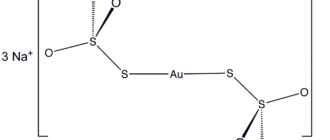 Дитиосульфатоаурат(I) натрия