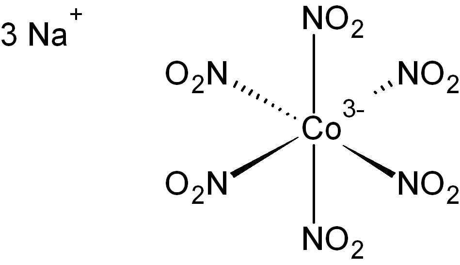 Гексанитрокобальтат(III) натрия