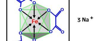 Триоксалатоферрат(III) натрия