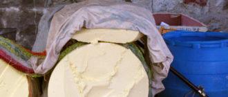 Масло из молока яка