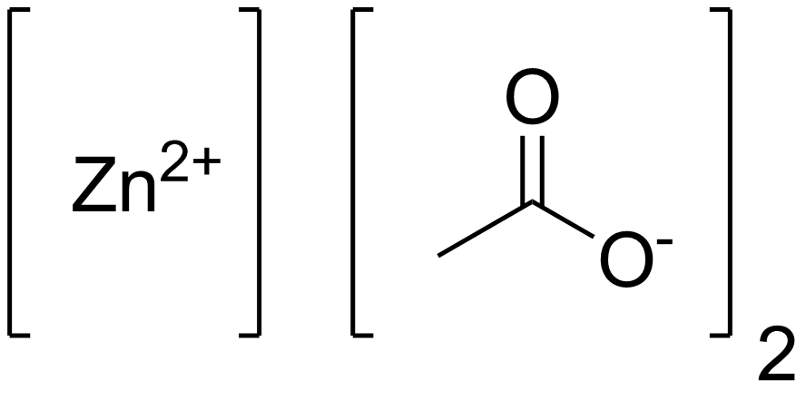 Ацетат цинка
