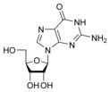 Структурная формула гуанозина