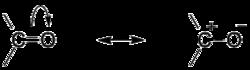 Резонансные структуры для карбонильной группы