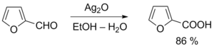 Окисление фурфурола реактивом Толленса