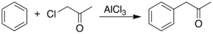 Phenylacetone from chloroacetone.png