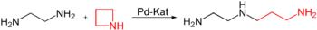 Ringöffnungsreaktion mit Ethylendiamin