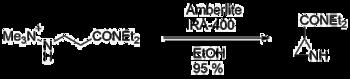 Aziridine-2-carboxylic acid synthesis