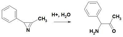 Hydrolis of 2H-azirine.jpg