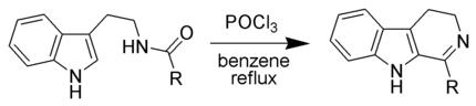 Bischler-Napieralski Reaction Scheme.png