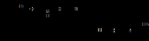 Образование третичных аминов из вторичных в присутствии DIPEA