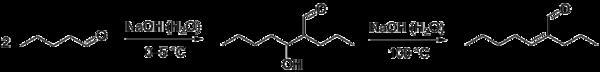 Альдольно-кротоновая конденсация пентаналя